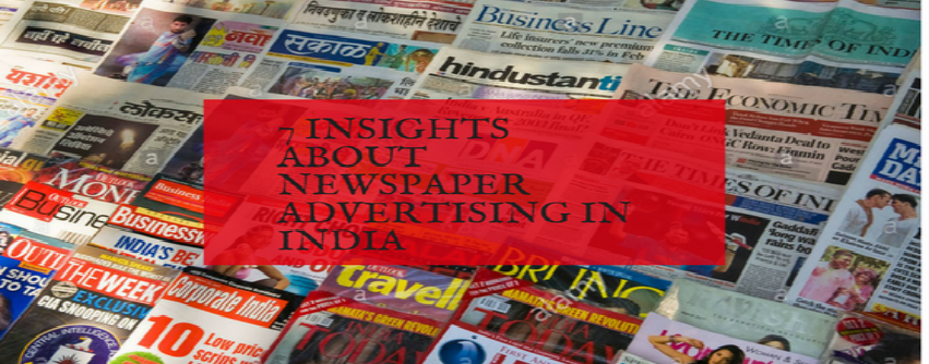 newspaper ad booking services